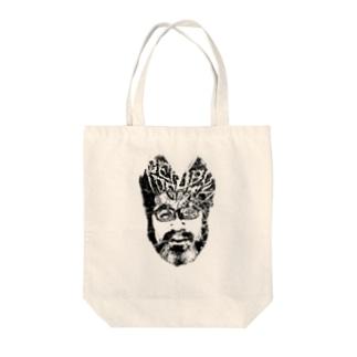 PEPABO DEATH - ANTIxPOSHIKI Tote bags