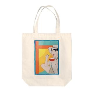 ayaT Tote bags