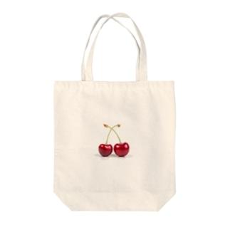 ふたつの心 Tote bags