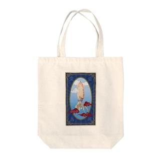 烏賊 Tote bags