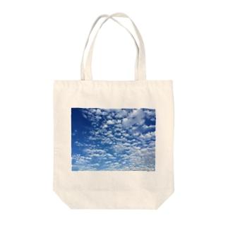 アオゾラ Tote bags