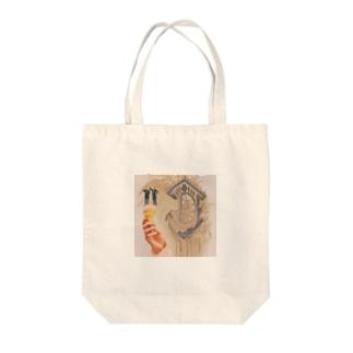 やわらか世界 Tote bags