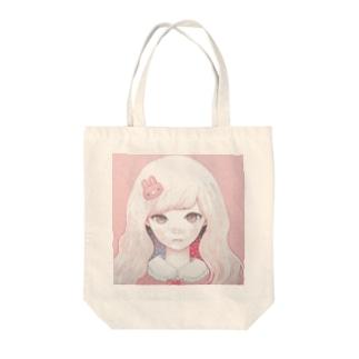 Usagi February Tote bags