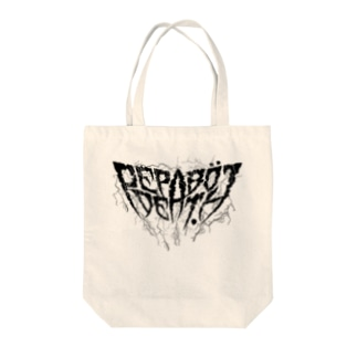 PEPABO DEATH - Lightning- Tote bags