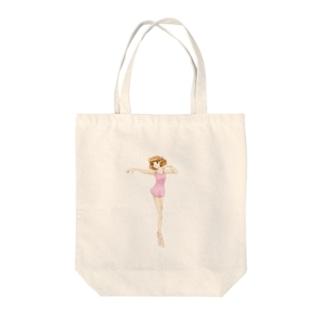 バレエ教室 Tote bags