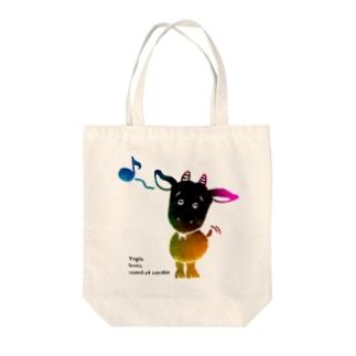 八重山ヤギオ Tote bags