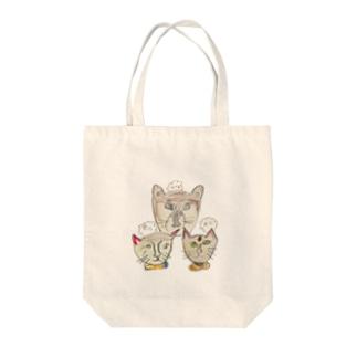 -犬猫猫- Tote bags