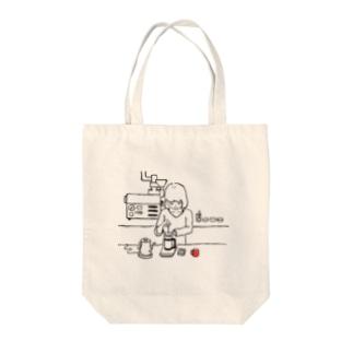 コーヒープレス/コーヒー/coffee Tote bags