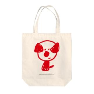 mamoruken(まもるけん!)red Tote bags