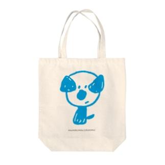 mamoruken(まもるけん!) blue Tote bags