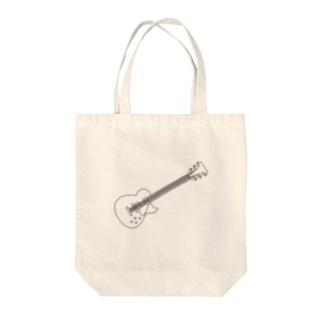 ギター Tote bags