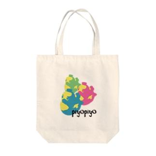piyopiyo Tote bags