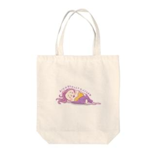 maccha*milkyのイモ姉さん Tote bags
