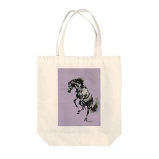 ムスタング Tote bags