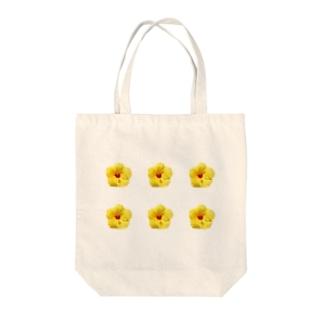 hibiscus ハイビスカス Tote bags