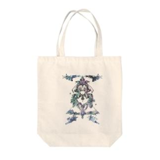 幾年月の巫女 Tote bags