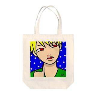 シンク Tote bags