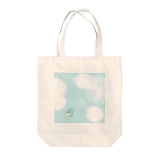 ひとこと ぺんぎん Tote bags
