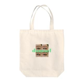 damsel eye Tote bags