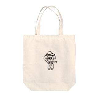 ごきげんかんちゃん Tote bags