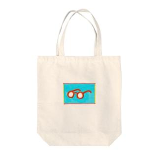 メガネちゃんトート Tote bags