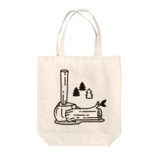 愛斧マサカリ Tote bags