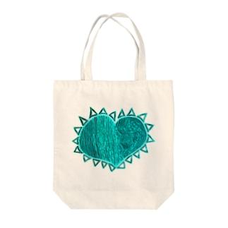 『理性 感情 防衛 無防備』 NEGA Tote bags