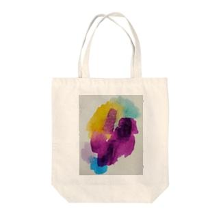 パンジー💠 Tote bags