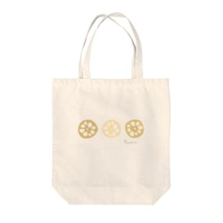 れんこん〜Renkon〜 Tote bags