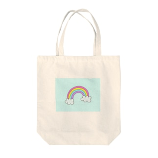 RAINBOW33の空に浮かぶ虹 Tote bags