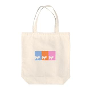 しばいぬさん  10・11・12ミックス Tote bags