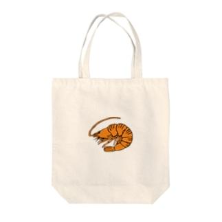 海老 エビ shrimp NO.36 Tote bags