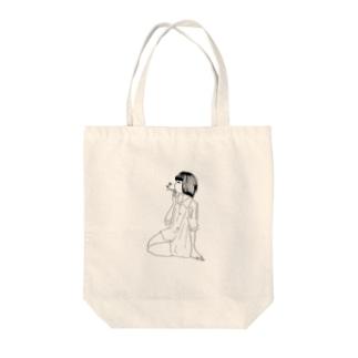 シガーガール Tote bags