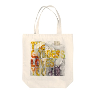 THE GODDESS LOVES YOU Tote bags