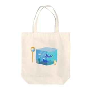 夏のテレポーテーション Tote bags