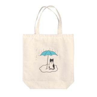 フィガロの雨宿り Tote bags