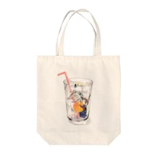オレンジちゃん Tote bags