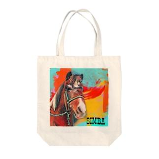 (公財)ハーモニィセンター チャリティグッズ シンバ Tote bags