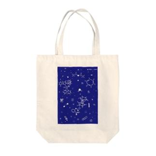 分子星座 Tote bags