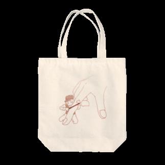 エリザベスの人差し指弾きの少年 Tote bags