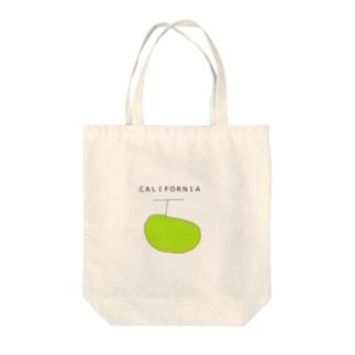 カリフォルニアメロン Tote bags