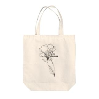 しし座の誕生花 Tote bags