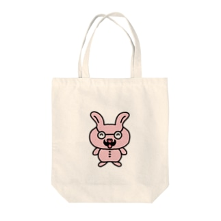 nyanchu08023のおじさんウサギ Tote bags