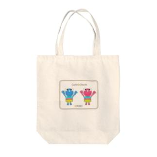Cochi-ROBO&Chicchi-ROBO Tote bags