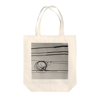 ELECTRIC WIRE Tote bags