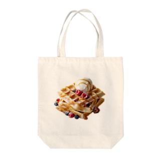 ポップ★ワッフル Tote Bag