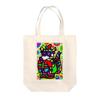 竜のパンワン Tote bags