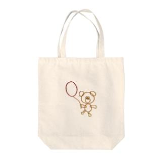 ワゴムグマと風船 Tote bags