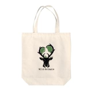エコバッグ [Wild Animals公式] Tote bags