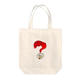 tunagari_honomiの考えるにわとり Tote bags